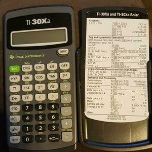 Accessories - Texas instrument calculator